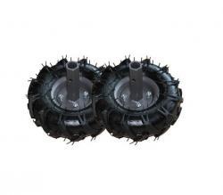 Резиновые колеса с съемными ступицами Ø255 мм